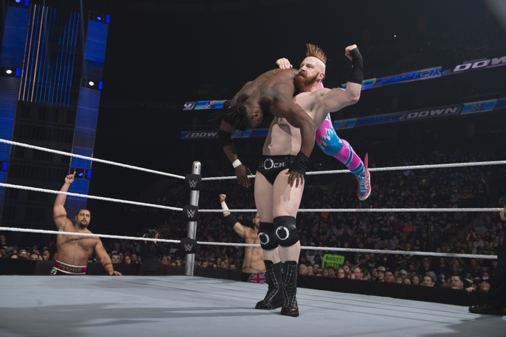 Sheamus & Kofi Kingston