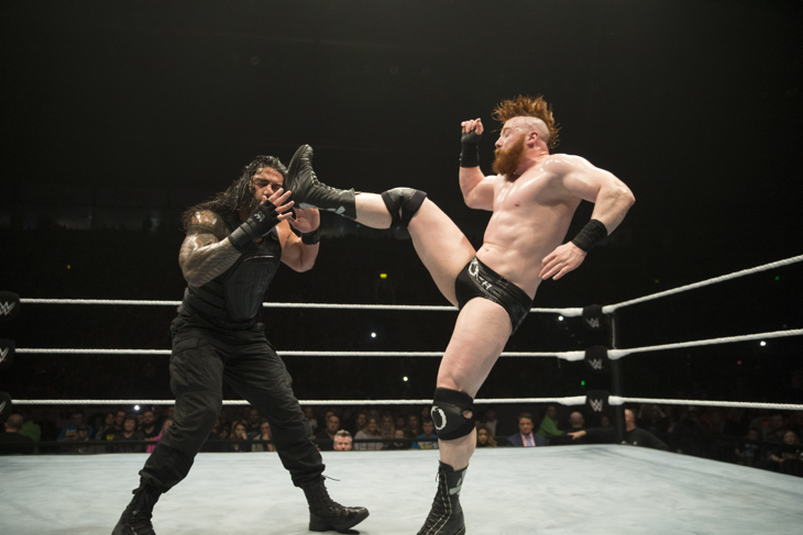 Sheamus & Roman Reigns